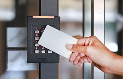 A card-based entry system